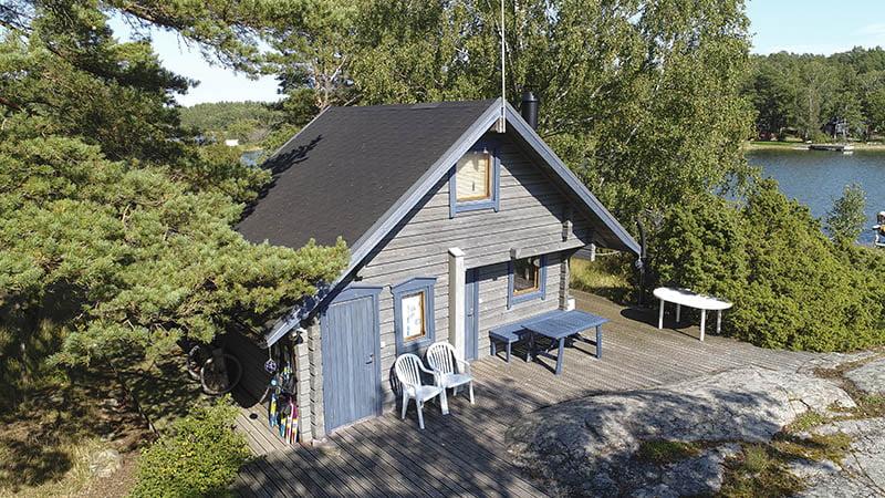 sauna building Nagu Finland